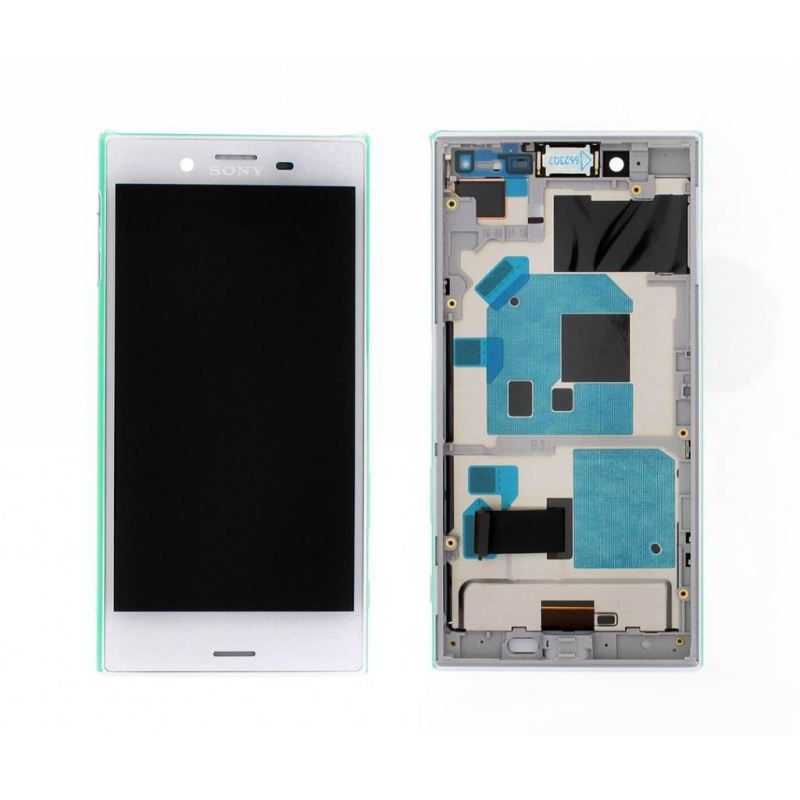 Sony Xperia X Compact LCD + Touch + Frame (Assembled) White