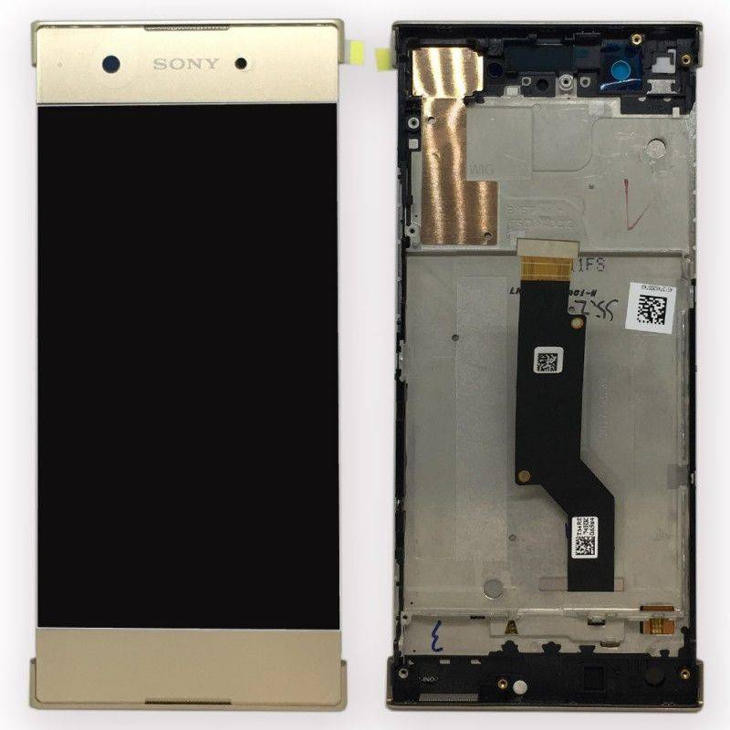 Sony Xperia XA1 LCD + Touch + Frame (Assembled) Gold