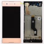 LCD + Touch + Frame (Assembled) pro Sony Xperia XA1 Rose (OEM)