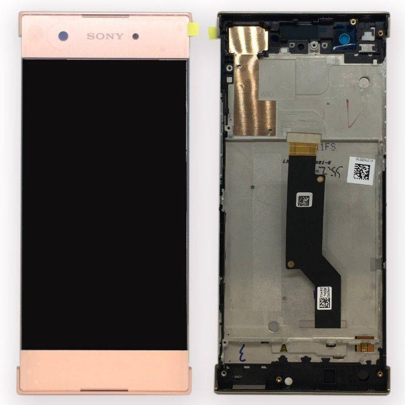 Sony Xperia XA1 LCD + Touch + Frame (Assembled) Rose