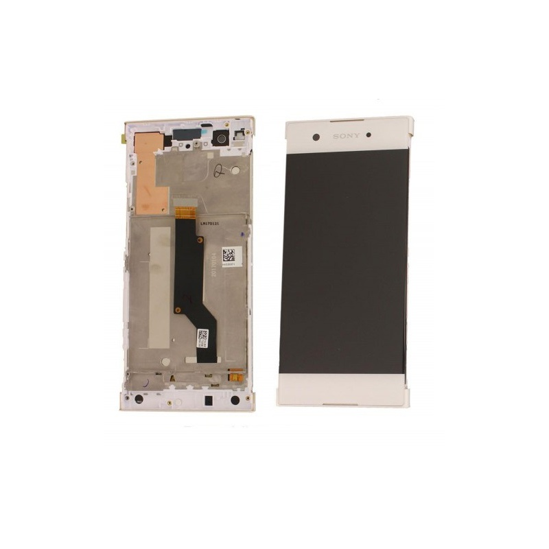 Sony Xperia XA1 LCD + Touch + Frame (Assembled) White