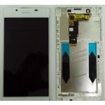 LCD + Touch + Frame (Assembled) pro Sony Xperia L1 White (OEM)
