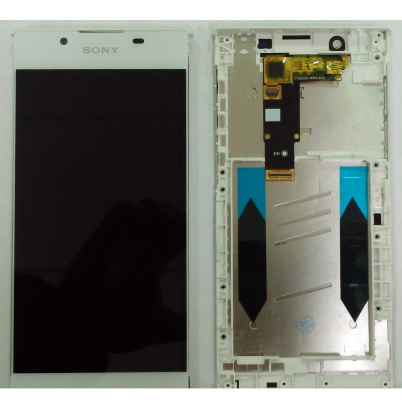 Sony Xperia L1 LCD + Touch + Frame (Assembled) White