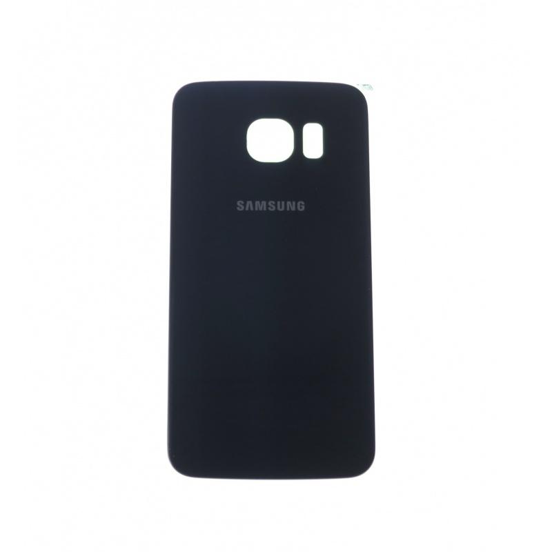 Back Cover Black pro Samsung Galaxy S6 Edge