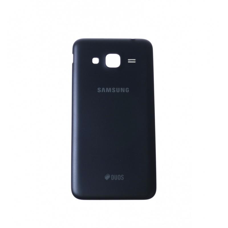 Back Cover Black pro Samsung Galaxy J3(2016)