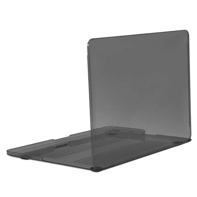 Crystal Clear Case pro MacBook 12 A1534 (Black)