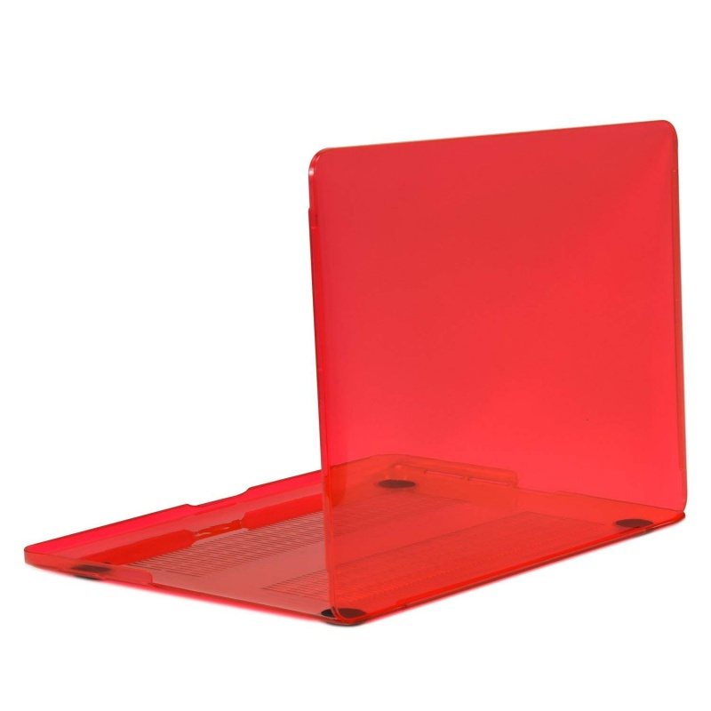 Crystal Clear Case pro MacBook Pro Retina 13.3 A1425 A1502 (Red)