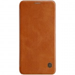 Nillkin Qin Leather Case pro Xiaomi Mi 8 Brown