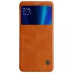 Nillkin Qin Leather Case pro Xiaomi Mi A2 Brown