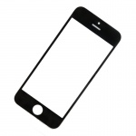 Front Black LCD glass (without OCA / Without Frame) for iPhone 5 / 5C / 5S / SE -10PCS/Set