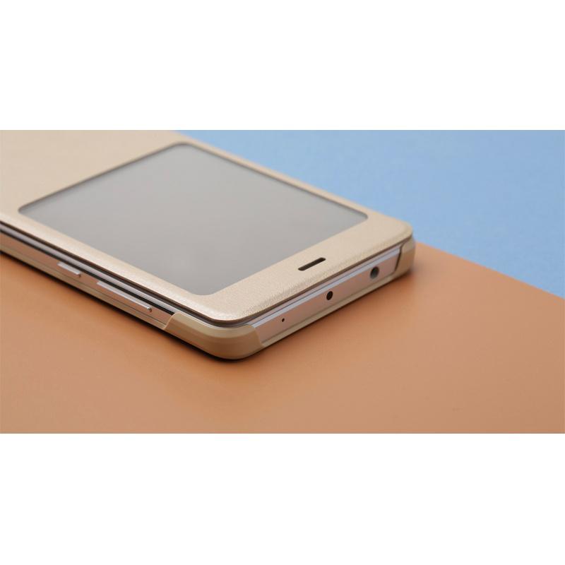 Xiaomi Redmi Note 4 Smart View Case Gold