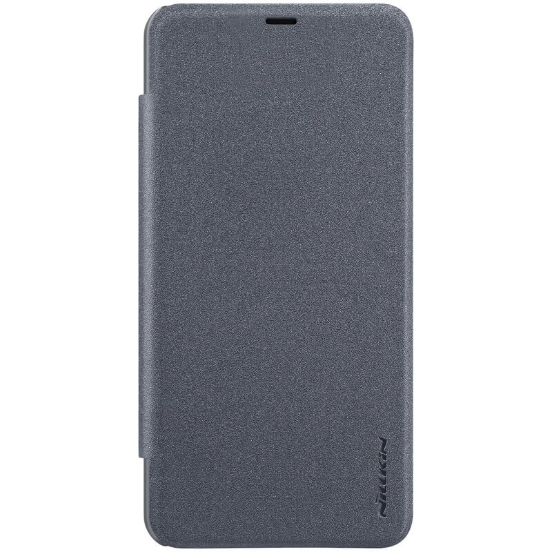 Nillkin Sparkle Leather Case pro Xiaomi Pocophone F1 Black