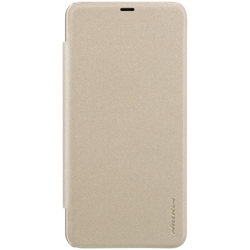 Nillkin Sparkle Leather Case pro Xiaomi Pocophone F1 Gold