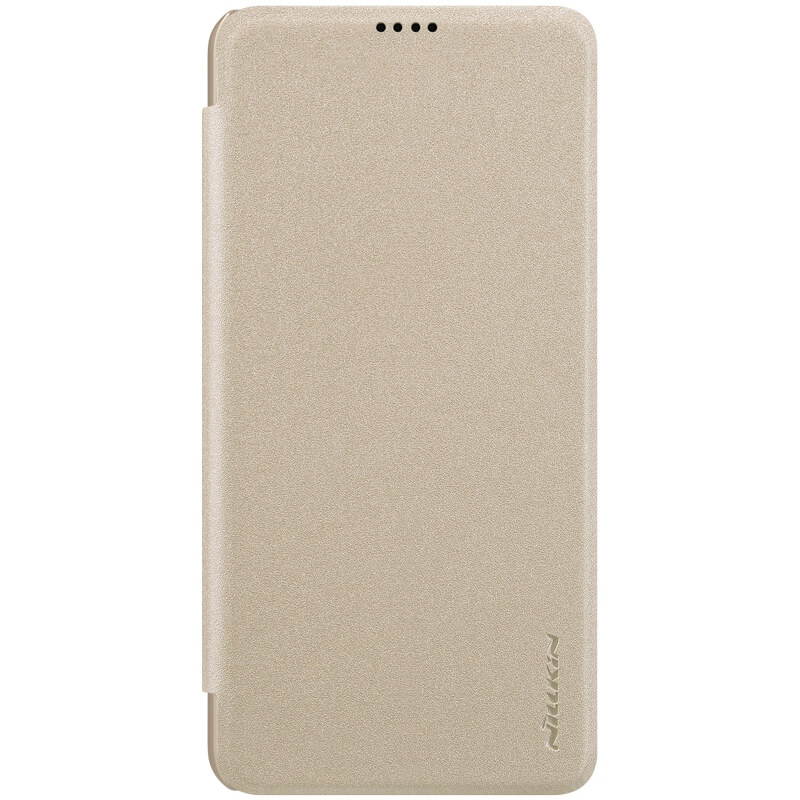 Nillkin Sparkle Leather Case pro Xiaomi Mi 8 Lite Gold