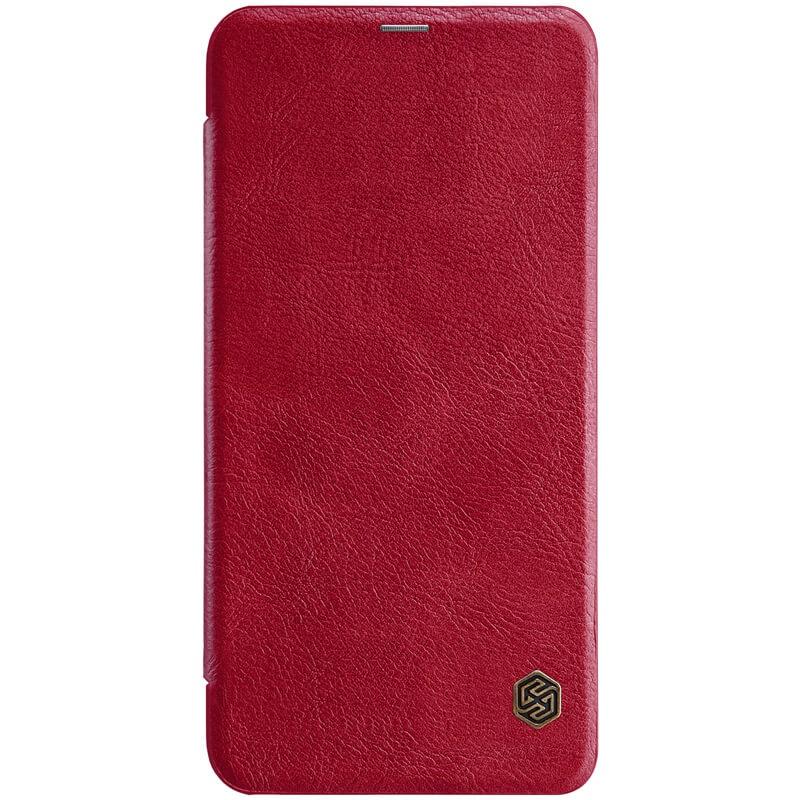 Nillkin Qin Leather Case pro Xiaomi Redmi Note 6 Pro Red