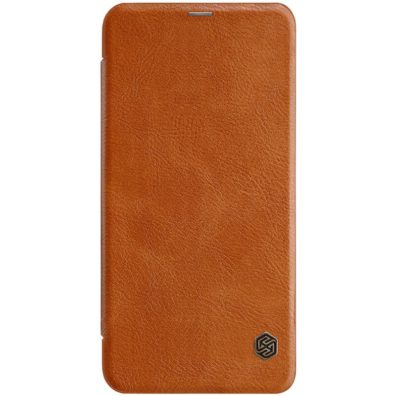 Nillkin Qin Leather Case pro Xiaomi Redmi Note 6 Pro Brown