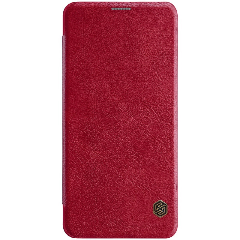 Nillkin Qin Leather Case pro Xiaomi Pocophone F1 Red