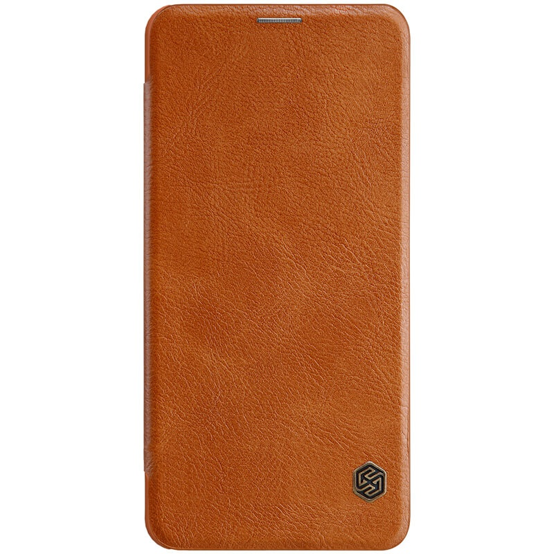 Nillkin Qin Leather Case pro Xiaomi Pocophone F1 Brown