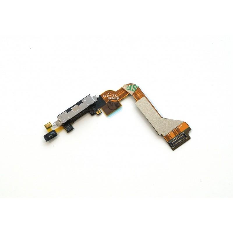 Napájecí flexi konektor Black pro Apple iPhone 4