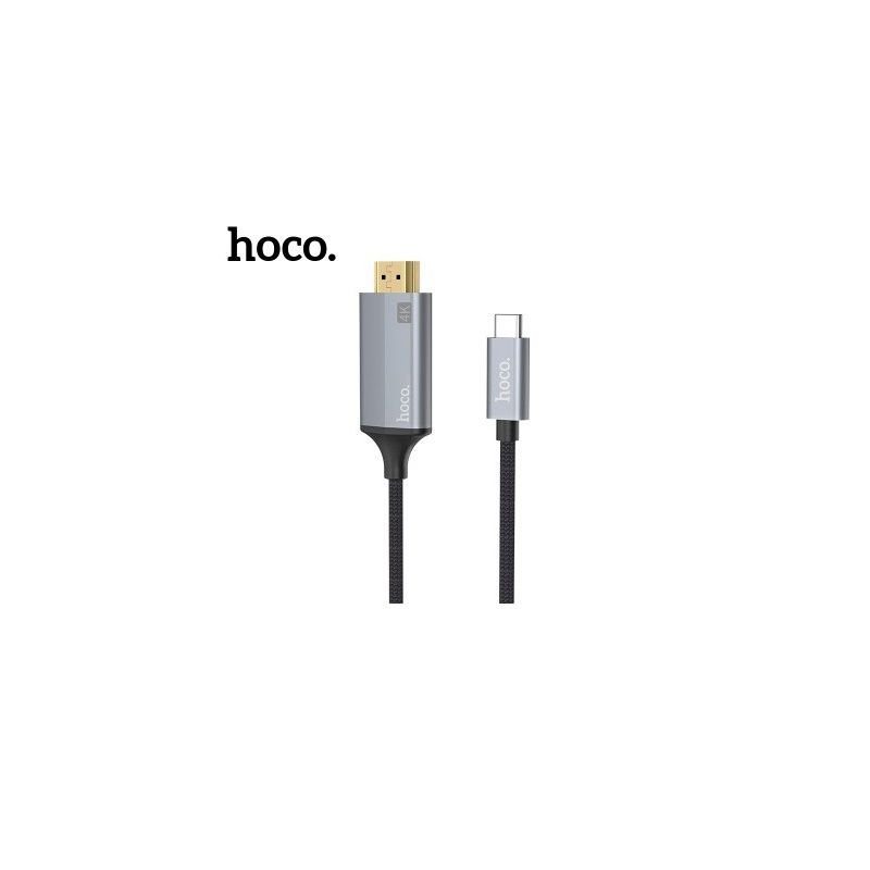 Hoco Type-C HDMI Cable Adapter (1.8m) Gray