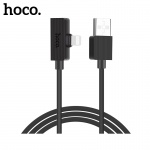 Hoco Brilliant Digital Audio Charging Cable for Lightning (1.2m) (Black)