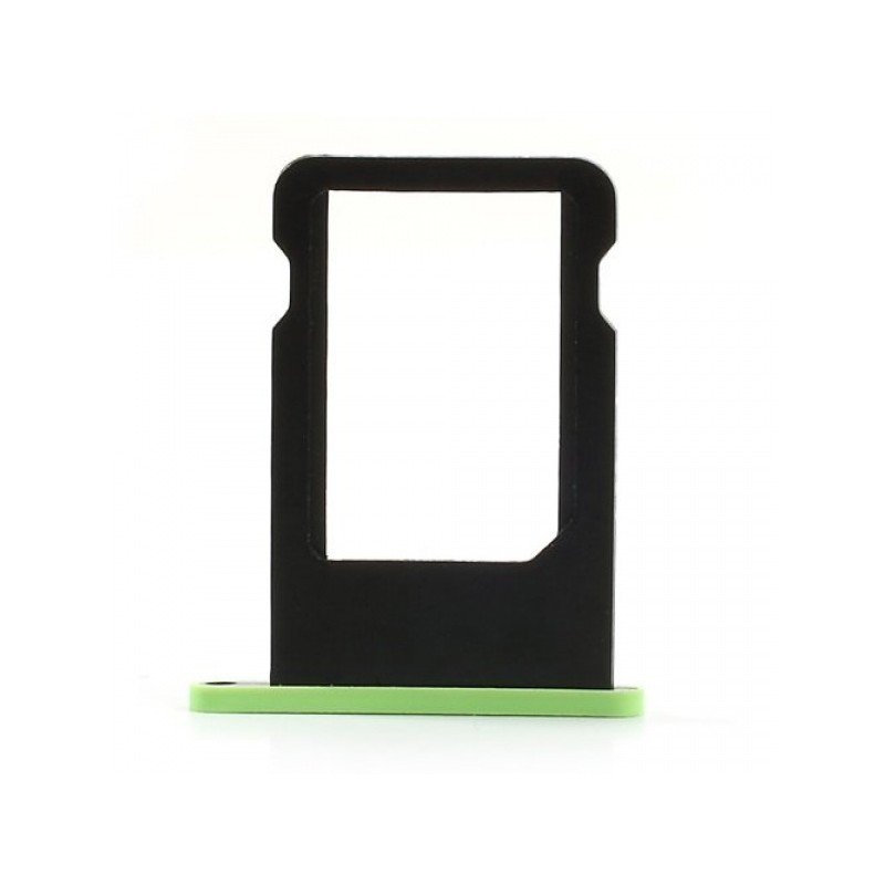 SIM Card Tray Green pro Apple iPhone 5C