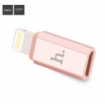 Hoco Micro USB to Lightning Connector (Rose Gold)