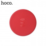 Hoco Round Wireless Charger 5W (Red)