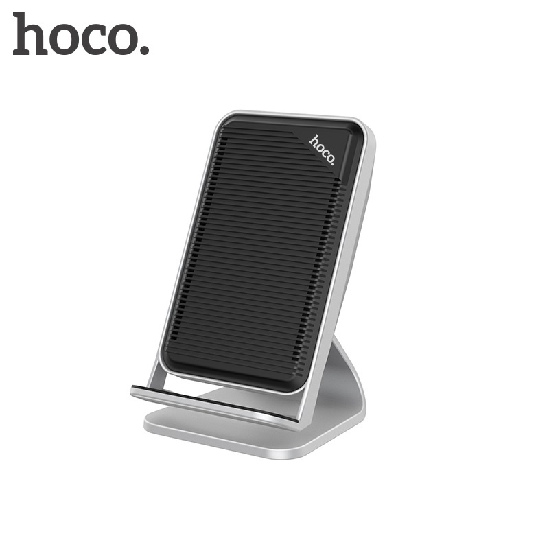 Hoco Wisewind Wireless Rapid Charger Silver