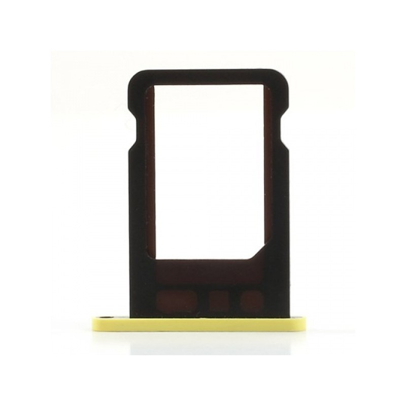 SIM Card Tray Yellow pro Apple iPhone 5C
