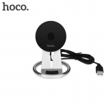 Hoco Unhindered Desktop Wireless Charger Stand 5W (Silver)