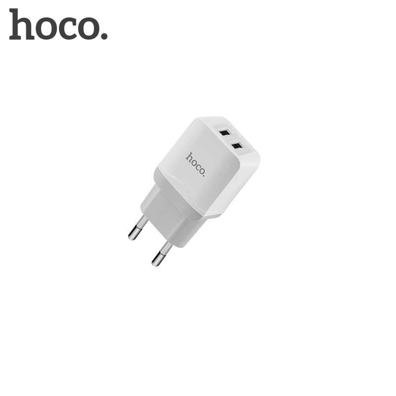 Hoco Little Superior Double Port Charger (EU) White