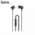 Hoco Ice Rhyme Wire Control Earphones with Mic (HIFI sound quality) Black