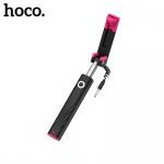 Hoco Dainty Mini Wired Selfie Stick (Black)