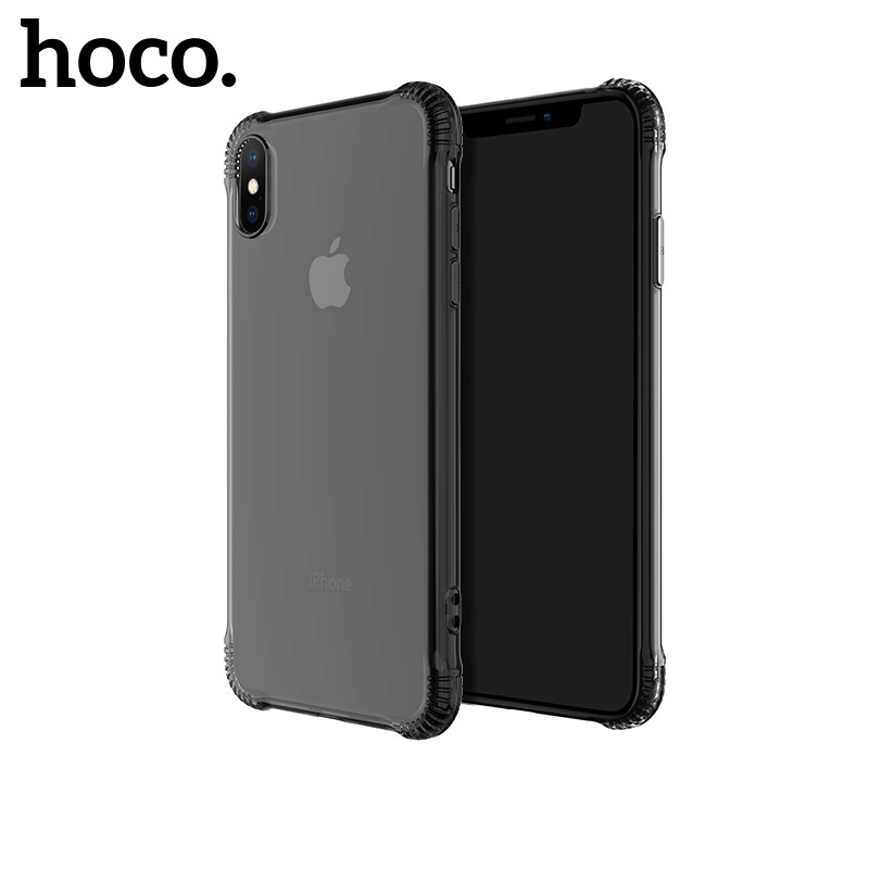 Hoco Armor Series Shatterproof Soft Case for iPhone X/XS Black