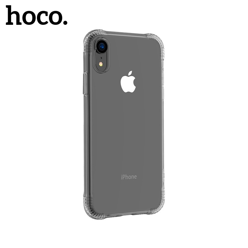 Hoco Armor Series Shatterproof Soft Case for iPhone XR Transparent