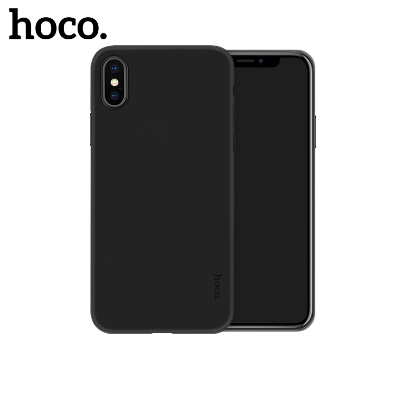 Hoco Thin Series Frosted Case for iPhone X/XS Jet Black