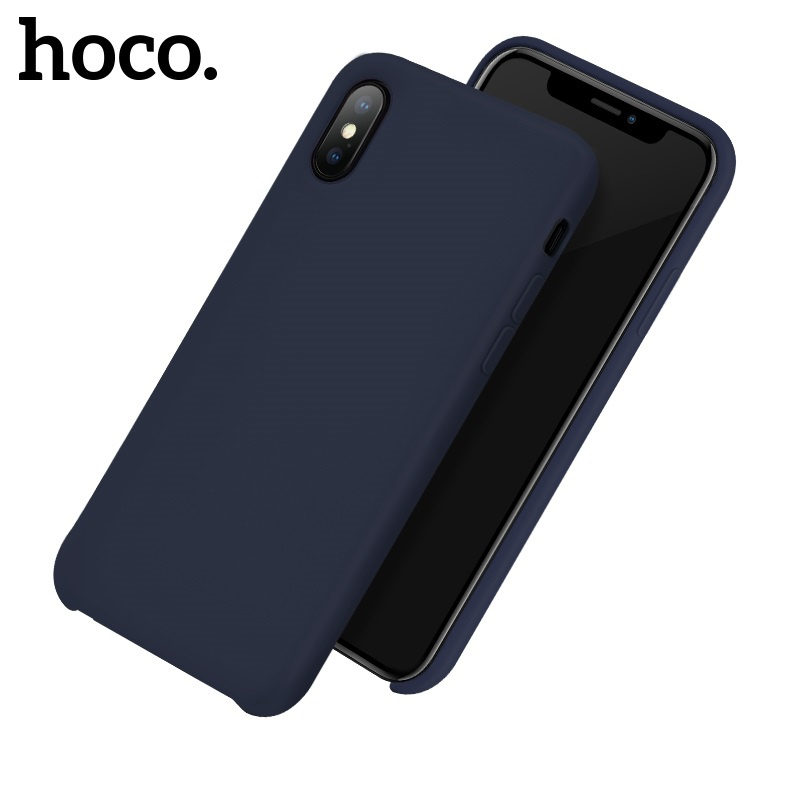 Hoco Pure Series Protective Case for iPhone X/XS Blue