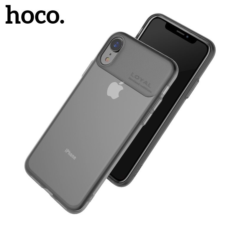Hoco Water Rhyme Series Protective Case for iPhone XR Black