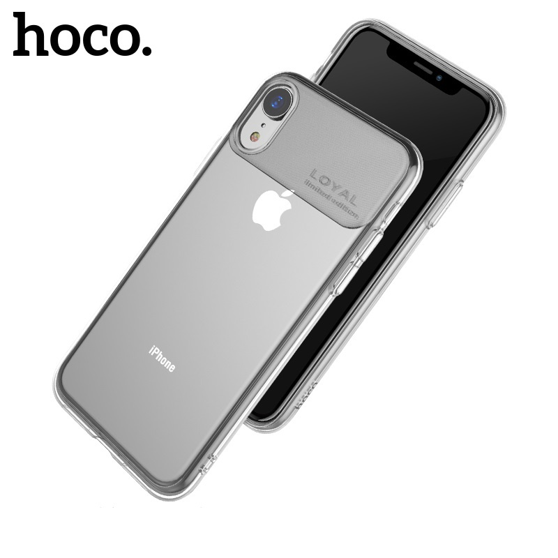 Hoco Water Rhyme Series Protective Case for iPhone XR Transparent