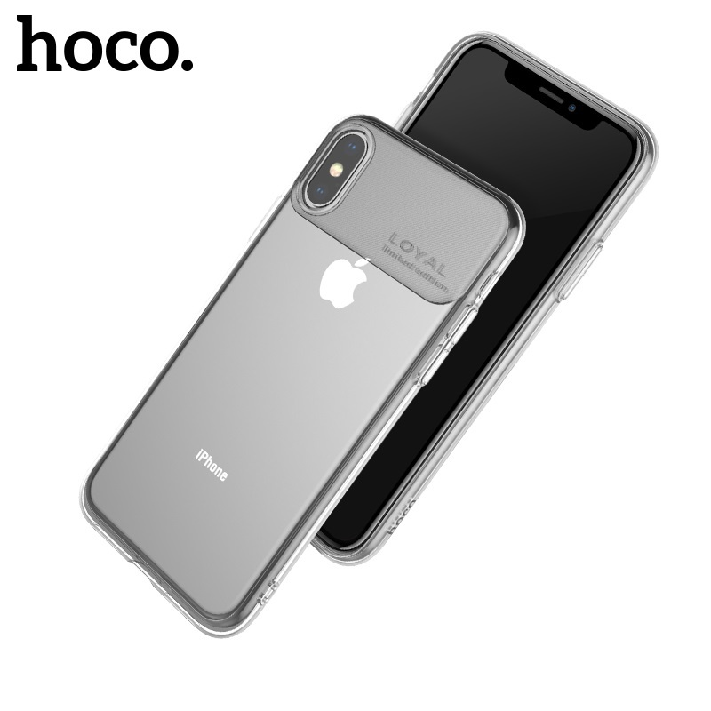 Hoco Water Rhyme Series Protective Case for iPhone XS Max Transparent