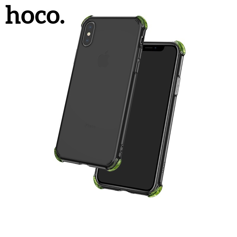 Hoco Ice Shield Series TPU Soft Case for iPhone X/XS Black