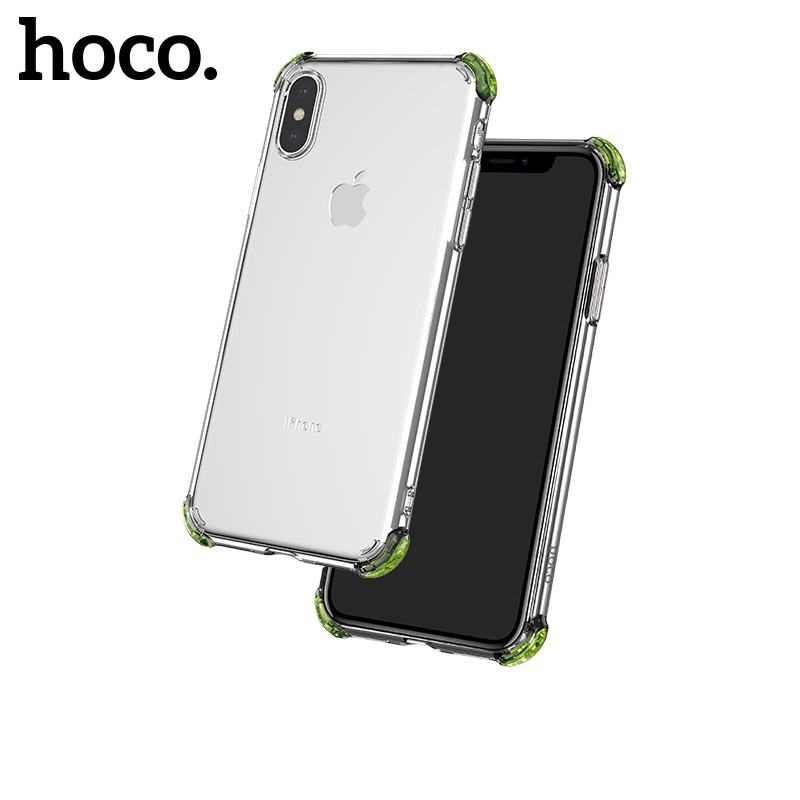 Hoco Ice Shield Series TPU Soft Case for iPhone X/XS Transparent