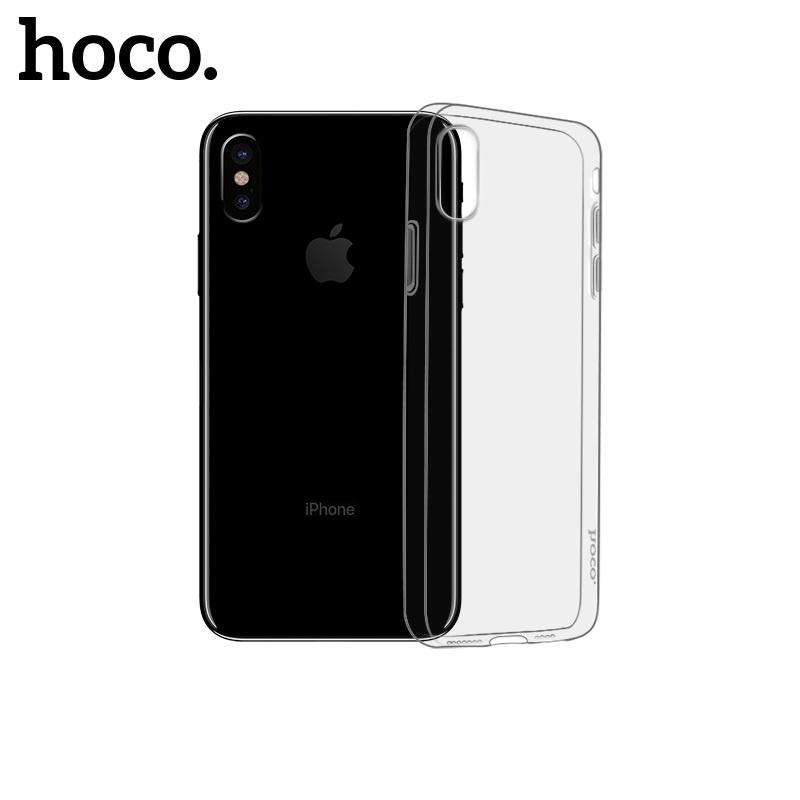 Hoco Light Series TPU Case for iPhone X/XS Black