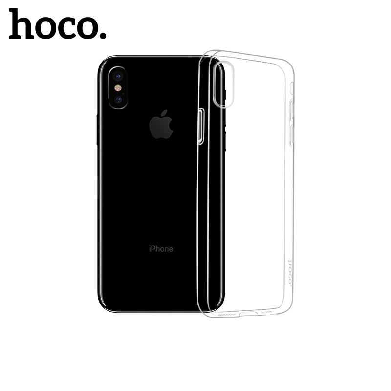 Hoco Light Series TPU Case for iPhone X/XS Transparent