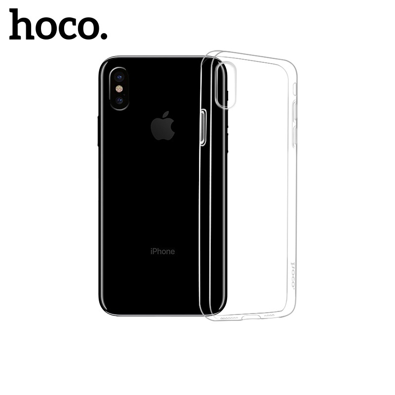Hoco Light Series TPU Case for iPhone XS Max Transparent