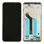 LCD + Touch + Frame (Separated) pro Xiaomi Redmi 5 Plus Black (OEM)