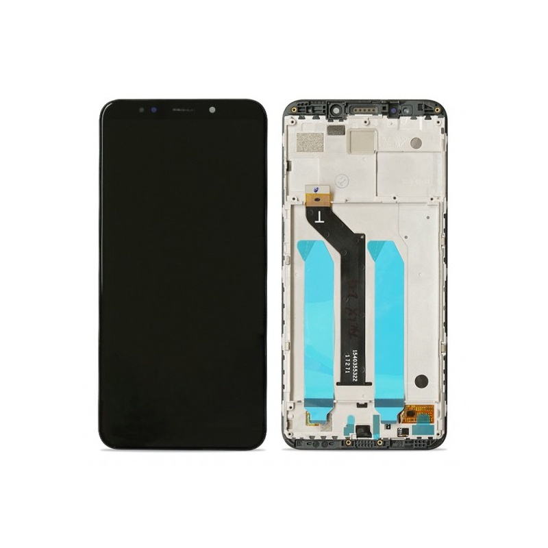 Xiaomi Redmi 5 Plus LCD + Touch + Frame (Separated) Black (OEM)