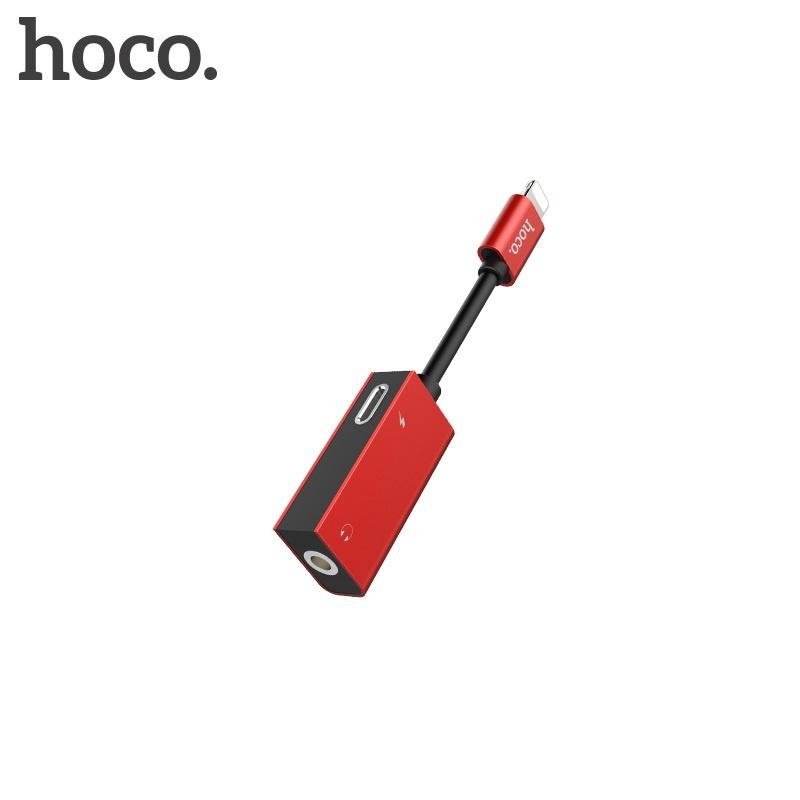 Hoco Lightning Digital 3.5 Audio Converter (Red)