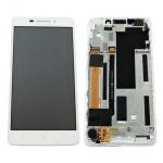 LCD + Touch + Frame (Assembled) pro Lenovo A5000 White (OEM)